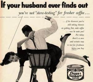 Ad Coffee Spanking