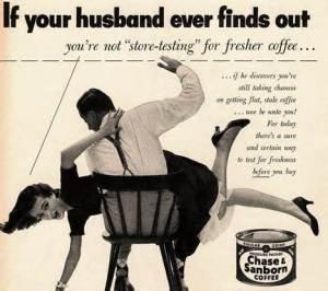 Ad Coffee Spanking