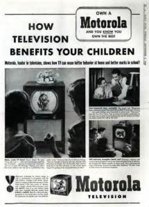 Ad Televison Benefits Children