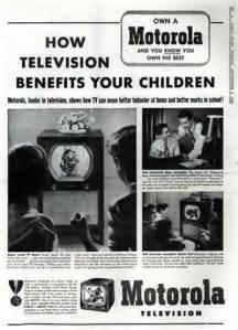 Ad Televison Benefits Children