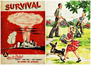 Nuclear Attack SURVIVAL Yard Family Dog