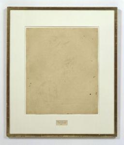 Erased Drawing Rauschenberg