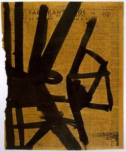 Kline Study for Hight Street 1952