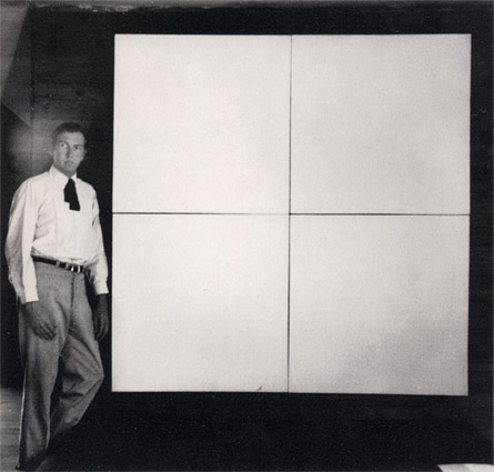 Interim 1950 s pt 3 rauschenberg rodchenko and for White canvas to paint