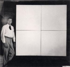 Rauschenberg, White Painting 1951