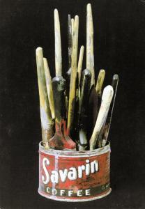 Jasper Johns Savarin Can