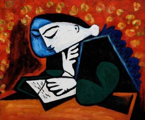 pablo-picasso-girl-reading-7135