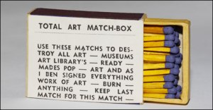 Total Art Match Box 1968