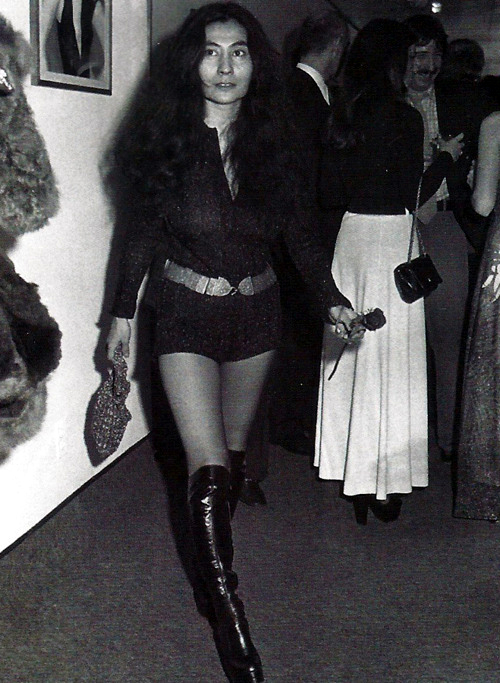 Image result for yoko ono fashion 60s