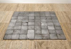 Carl Andre, Aluminum Square