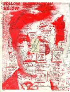 Ray Johnson Rimbaud