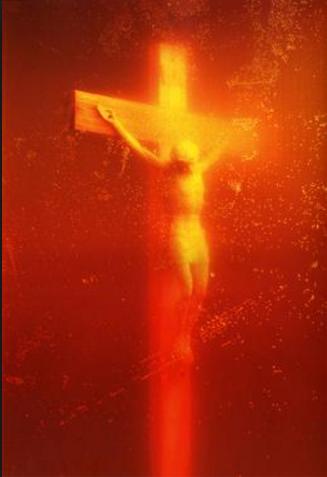 Andres Serrano. Piss Christ. 1987